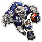 Indianapolis Colts Mascot NFL Car Bumper Sticker Decal - 3'' or 5'' on eBay