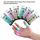 8pcs Golf Finger Glove Finger Brace Finger Sleeve Prevent Callus Blisters Finger