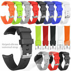 Universal Sports Silicone Wrist Watch Band Replacement Quick Release 20mm/22mm image