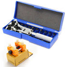 Watch Repair Back Case Opener Watchmaker Screw Cover Remover Band Fixer Tool Kit