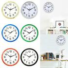 New Simple Style Creative Office Living Room Bedroom Round Wall Clock LM 01