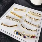 Chic Shoelaces Clips Decor Faux Pearl Rhinestone Charms Shoes Accessories