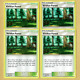 4x Viridian Forest 156/181 Uncommon Stadium - EXC-NM - Team Up - PTCG (scans)