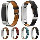 For Fitbit Alta / Alta HR Genuine Leather Watch Replacement Band Wrist Strap US image