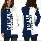 Dallas Cowboys Team Sport Hoodie Dress for Women Size Large on eBay