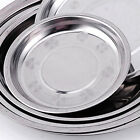 Внешний вид - Stainless Steel Camping Tableware Dinner Plate Dish Food Container Tray Durable