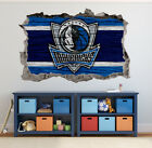 Dallas Mavericks Wall Art Decal 3D Smashed Basketball NBA Wall Decor WL186 on eBay