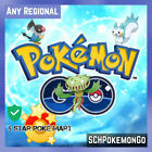 Pokemon Go Regional | Any | Pachirisu, Chatot, Carnivine, Shellos
