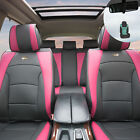 Luxury Leather Bucket Seat Covers Set for Car SUV 10 Colors w/ Free Gift $239.97 USD on eBay