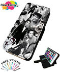 ELVIS PRESLEY COLLAGE MONTAGE PRINT - Leather Flip Wallet Phone Case Cover