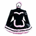 heavy Sissy maid PVC mini dress lockable CD/TV Tailor-made Dress