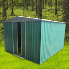 8x4',8x6',8x8',8x10' Metal Garden Shed with Storage Base Garage House Outdoor UK