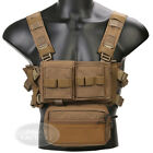 Emerson MK3 Micro Fight Chest Rig Combat Modular Lightweight w/ Mag Dump PouchChest Rigs & Tactical Vests - 177891