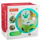 Fisher Price Royal Step Stool Potty Training Seat, Green image