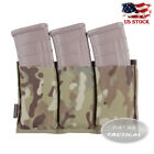 Emerson Tactical MOLLE Triple 5.56 Open Mag Pouch Durable Magazine Carrier Bag