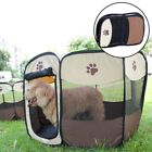 Portable Pets Tent Playpen Exercise Foldable Kennel Soft Cage Travel Outdoor UK