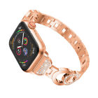 Stainless Steel Band with Rhinestones Diamond Bracelet Strap for Apple Watch
