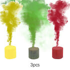 1/6pcs Smoke Cake Colorful Smoke Effect Show Round Bomb Stage Photography Aid