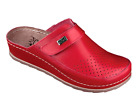 Women hand made natural leather  clogs with PU sole size 3.5-7 (300)