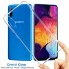 Samsung Galaxy A40 A50 ClearTPU Case Cover & Tempered Glass Screen Protector CA