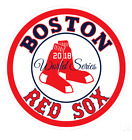 "2018 Boston Red Sox 2018 World Series 4"" Circle Vinyl Decal Sticker on Ebay"
