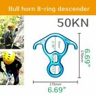 Rock Climbing Device Outdoor Riser Rappelling Gear Equipment For Climber Lot New