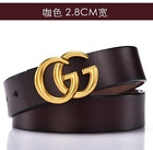 WOMEN'S GENUINE LEATHER CLASSIC AND SIMPLE PURE COWHIDE G BELTS