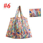 US Eco Foldable Handy Shopping Bags Reusable Tote Pouch Recycle Storage Handbags