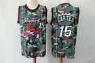 Toronto Raptors #15 Vince Carter Basketball Jungle camouflage jersey Size:S-XXL on eBay