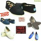 Toms Men's Classics Canvas Shoes Slip On Comfortable Original NEW WITHOUT BOX