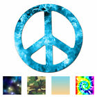 Peace Sign - Vinyl Decal Sticker - Multiple Patterns & Sizes - Ebn941