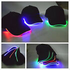62BF Unisex LED Lighted Glow Hat Baseball Golf Hip-hop Club Party Cap Running
