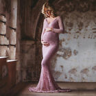Womens Pregnant Long Maxi Dress Maternity Ball Gown Party Pregnancy Photography
