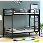 3FT Single Metal Bunk Beds Frame TWINS 2 Beds for Adult Children Kids