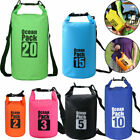 Dry Bag Sack for Canoe Floating Boating Kayaking Camping PVC Waterproof Backpack