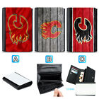 Calgary Flames Leather Women Wallet Coin Purse Card Holder $13.99 USD on eBay