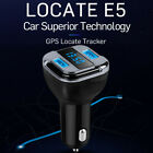 Wireless Bluetooth Dual USB Car Charger FM Transmitter With GPS Tracker Locator