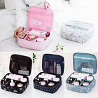 Travel Cosmetic Makeup Bag Toiletry Case Hanging Pouch Wash Organizer Storage US
