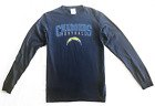 Official NFL Los Angeles Chargers *Bolt Logo* Long-Sleeve Navy Blue T-Shirt *NEW $10.75 USD on eBay