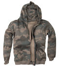 Halle 15 Clothes Kapuzenpullover Black Camouflage - H15 Stripes  Army Hoodie