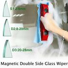 New Glider Magnetic Double Side Glass Wiper Cleaner for Glazed Window 0.08-1.1''