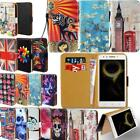 Leather Smart Stand Wallet Cover Case For Various Lenovo SmartPhones