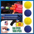 100Pcs Bullet Balls Rounds Compatible For Nerf Rival Apollo Toys Gun Refill US