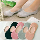 Woman Candy Color Invisible Low Cut Soft Stretch Heels Loafer Female Boat Socks