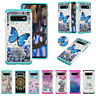 For Samsung S10/9/8 Plus /S10E/Note9 Shockproof TPU Diamond Painted Case Cover
