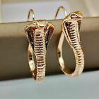 Pair Cobra Snake Earrings Drop Dangle Hoop Huggie Jacket Climber Ear Cuff Dragon
