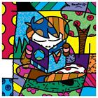 "Britto ""Journey"" Hand Signed Canvas; Authenticated"