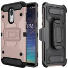 for COOLPAD LEGACY, [Tank Series] Phone Case Cover & Holster +Tempered Glass