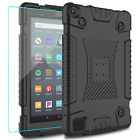 For Amazon Fire 7 2019 2017 / HD 8 2018 Tablet Case Cover With Screen Protector