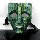 The Mask Movie Jim Carrey Cosplay Fancy Party crazy head Helloween Mask